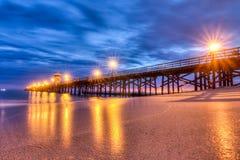 Free Seal Beach Pier Reflective Light Royalty Free Stock Photo - 56338465