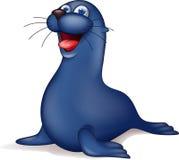 Seal cartoon royalty free illustration