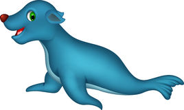 Seal cartoon Royalty Free Stock Image