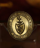 Seal emblem Royalty Free Stock Image