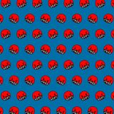 Seal - emoji pattern 69. Pattern of a emoji seal that can be used as a background, texture, prints or something else stock illustration