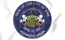 Seal of Erie Pennsylvania, USA. Royalty Free Stock Image