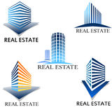 Seal estate symbol Stock Images