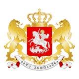 Seal of Georgia Royalty Free Stock Photos