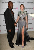 Seal and Heidi Klum. 27 February 2011 - West Hollywood, California - Seal and Heidi Klum. 19th Annual Elton John AIDS Foundation Academy Awards Viewing Party stock photo