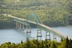 Seal Island Bridge - Nova Scotia - Canada Stock Image