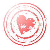 Seal of love Royalty Free Stock Images
