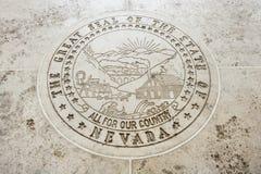 Seal of Nevada in Fort Bonifacio, Manila, Philippines Stock Image