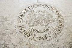 Seal of New Mexico in Fort Bonifacio, Manila, Philippines royalty free stock photos