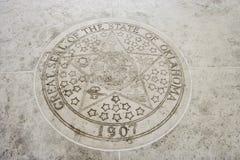 Seal of Oklahoma in Fort Bonifacio, Manila, Philippines Royalty Free Stock Images