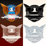 Seal of the President Royalty Free Stock Photo
