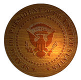 Seal of the president of US Stock Photo
