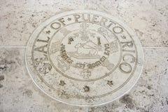 Seal of Puerto Rico in Fort Bonifacio, Manila, Philippines Royalty Free Stock Photography