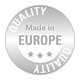 Seal of Quality Europe Royalty Free Stock Photography