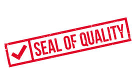 Seal Of Quality rubber stamp Royalty Free Stock Photos