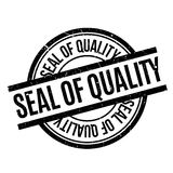 Seal Of Quality rubber stamp Stock Photo