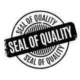 Seal Of Quality rubber stamp Stock Images