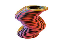 Seal ring for piping work. Stock Photography