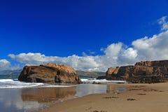 Seal Rock & Pacific Beach in San Francisco Stock Photos