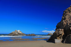 Seal Rock & Pacific Beach in San Francisco Royalty Free Stock Images