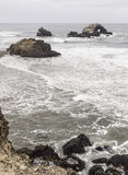 Seal Rocks at Lands End Royalty Free Stock Photos
