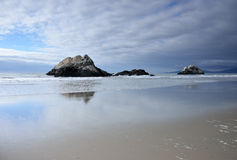 Seal Rocks, on Ocean Beach in San Francisco Stock Images
