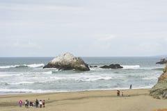 Seal Rocks off the coast of San Francisco, California.