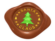 Seal Santa Claus Stock Images