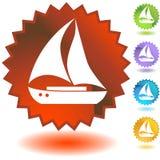 Seal Set - Boat vector illustration