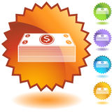 Seal Set - Cash Royalty Free Stock Photo