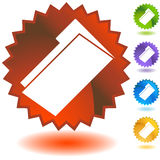 Seal Set - Document Folder Royalty Free Stock Photo