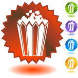 Seal Set - Popcorn Royalty Free Stock Photography