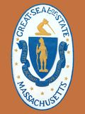 Seal of State of Massachusetts Royalty Free Stock Image