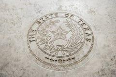 Seal Of Texas in Fort Bonifacio, Manila, Philippines Royalty Free Stock Photography