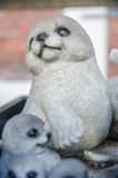 Seal toy. Family of seal as toy stock images