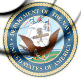 Seal of the United States Department of the Navy. Royalty Free Stock Photography