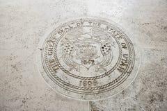 Seal of Utah in Fort Bonifacio, Manila, Philippines Stock Images