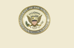 Seal of the Vice President of the United States Royalty Free Stock Photos