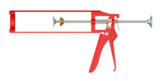 Sealant gun Stock Photography