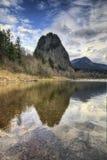 Señale con almenara el parque de estado de la roca Imagen de archivo