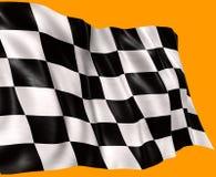 Señale por medio de una bandera en el viento 2 Imagen de archivo