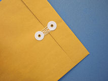 Sealed A4 paper envelope Stock Photo
