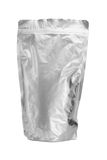 Sealed aluminum bag Royalty Free Stock Images