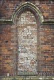 Sealed Brick Window Stock Image