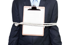 Sealed business deal Stock Image
