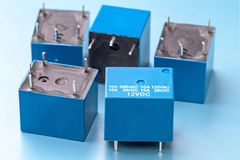Sealed electromagnetic relay Royalty Free Stock Photography