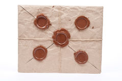 Sealed Envelope Royalty Free Stock Photo