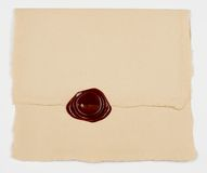 Sealed envelope Stock Image
