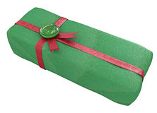 Sealed Gift, Green Royalty Free Stock Photos