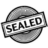 Sealed rubber stamp. Grunge design with dust scratches. Effects can be easily removed for a clean, crisp look. Color is easily changed Royalty Free Stock Images
